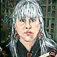 Portrait Box, acrylic 1990